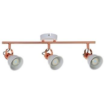 Lampa listwa miedziana 3pkt LED ANITA 56,5cm