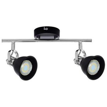 Lampa listwa LED czarna 2pkt ANITA 39,5cm
