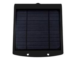 Solarna lampa BUTTERFLY czarna 3,2W