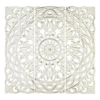 CASANDRA dekoracja ścienna drewniana, panele ażurowe, wys. 3x 90 cm