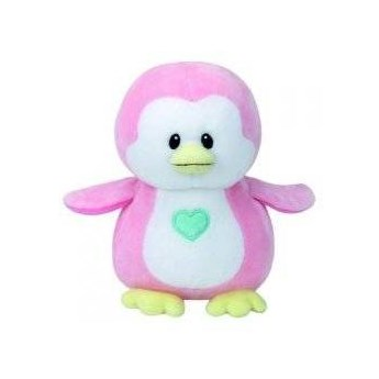 Maskotka TY INC Baby Ty Penny - Pingwin różowy 24cm 82005
