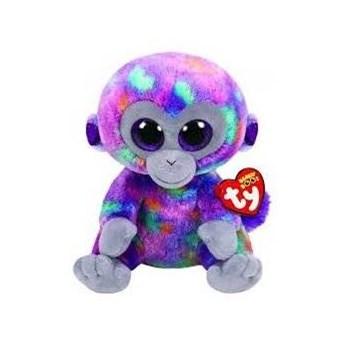 Maskotka TY INC Beanie Boos Zuri Kolorowa małpka 24 cm 36419
