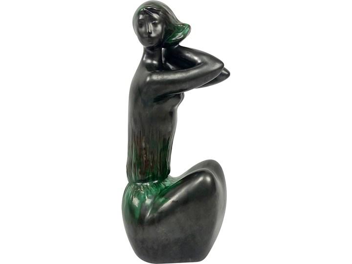 Figurka aktu kobiecego, proj. J. Forejtová, Keramo Kostelec, Czechosłowacja, lata 60.
