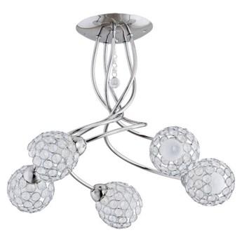 Lampa sufitowa żyrandol nowoczesny VAIO chrom śr. 44cm