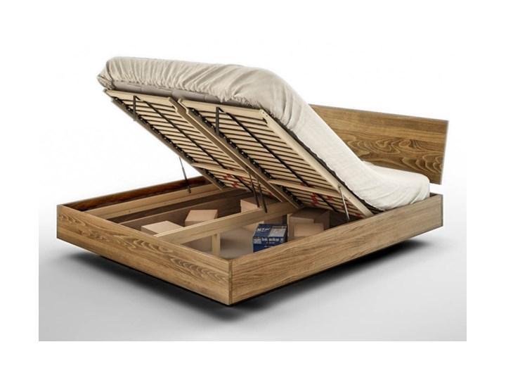 Ballega łóżko bukowe lewitujące, rozmiary 140x200, 160x200, 180x200 Kategoria Łóżka do sypialni Łóżko drewniane Kolor Beżowy