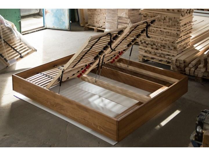 Ballega łóżko bukowe lewitujące, rozmiary 140x200, 160x200, 180x200 Łóżko drewniane Kategoria Łóżka do sypialni Pojemnik na pościel Z pojemnikiem