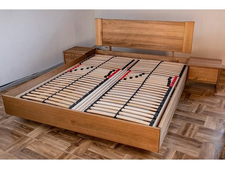 Ballega łóżko bukowe lewitujące, rozmiary 140x200, 160x200, 180x200 Łóżko drewniane Rozmiar materaca 160x200 cm