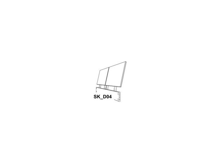 Ballega łóżko bukowe lewitujące, rozmiary 140x200, 160x200, 180x200 Łóżko drewniane Rozmiar materaca 140x200 cm