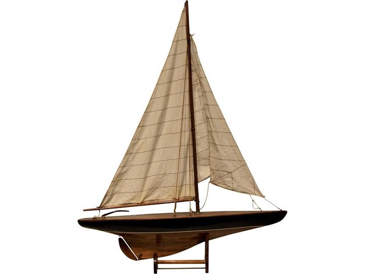 Drewniany model żaglówki, Szwecja, lata 90. Drewno Drewno