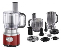 RUSSELL HOBBS Robot kuchenny Retro Food Processor - Red 25180-5