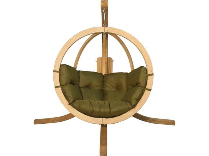 Zestaw: stojak Alicante + fotel Swing Chair Single (2), pistacjowy Alicante+Swing Chair Single (2)