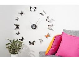Zegar Butterflies Chrom - 20792