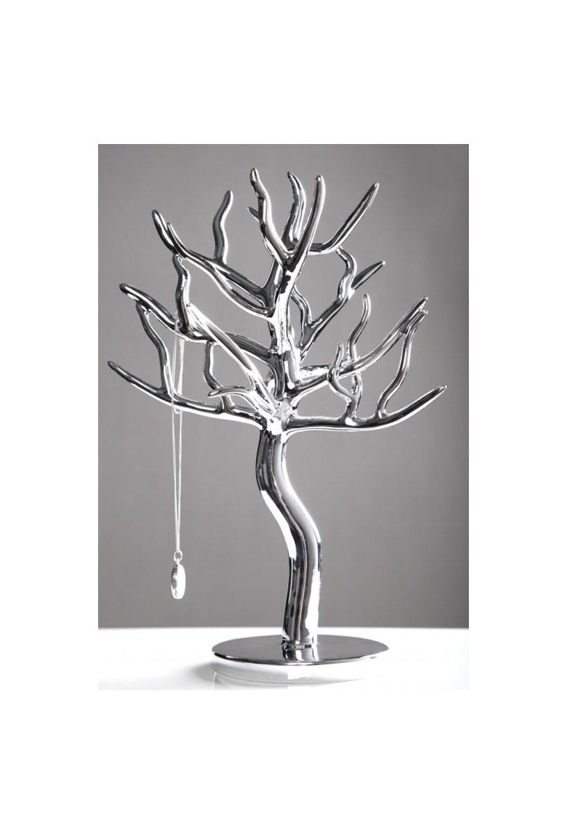 stojak na bi uteri drzewko silver i18504 organizery. Black Bedroom Furniture Sets. Home Design Ideas