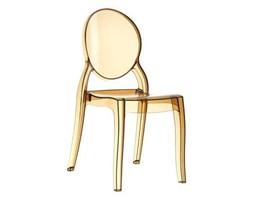 Krzesło Elizabeth wysoki połysk kolory
