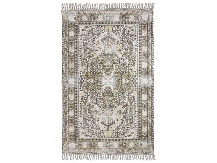 HK Living :: Łatany dywan bawełniany z nadrukiem i frędzlami (120x180) Dywany 120x180 cm Bawełna Bawełna