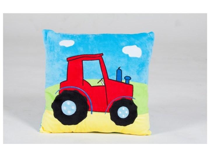 Poduszka Z Aplikacją Traktorek 35x35 Cm