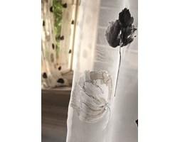 Panel przesuwny Felicite 55*245, transparentny, wzór kwiaty biało-czarne