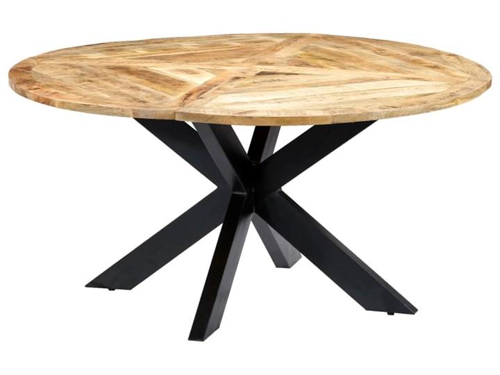 vidaXL Stół jadalniany, okrągły, 150 x 76 cm, lite drewno mango Długość 150 cm  Pomieszczenie Stoły do jadalni