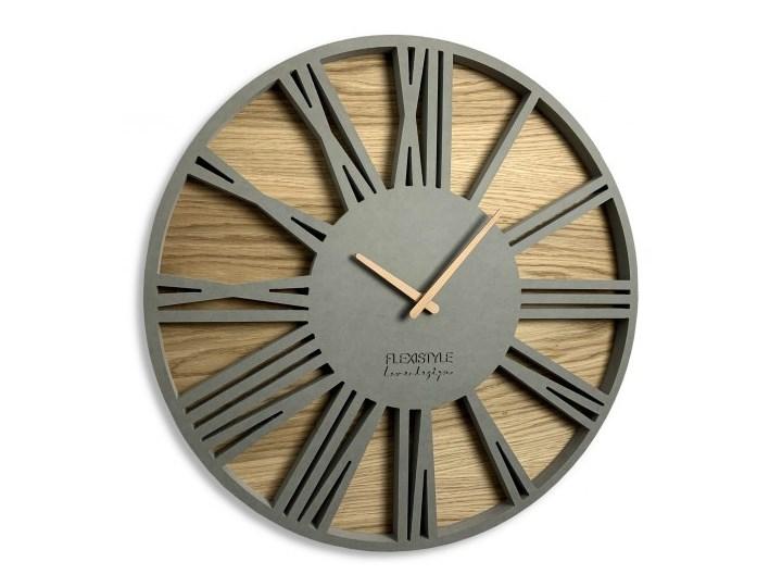 Wielki zegar ścienny Roman Loft 50cm
