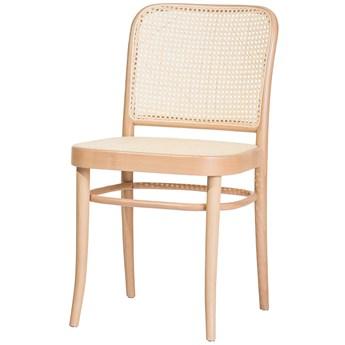 Krzesło 811 Natural z ratanową plecionką Cane, TON