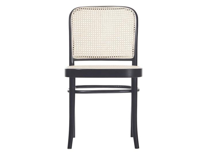 Krzesło 811 Black Grain z ratanową plecionką Cane, TON Wysokość 80 cm Tradycyjne Rattan Głębokość 53 cm Głębokość 41 cm Tkanina Szerokość 45 cm Płyta MDF Wysokość 46 cm Drewno Pomieszczenie Kuchnia