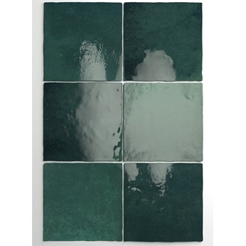 Artisan Moss Green 13,2x13,2 cegiełka ścienna