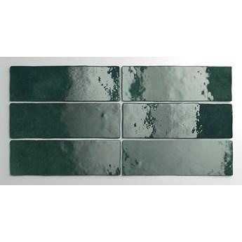 Artisan Moss Green 6,5x20 zielone kafelki