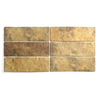 Artisan Gold 6,5x20 złote kafelki