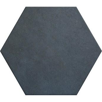 Heritage Indigo 17,5x20 płytki heksagonalne