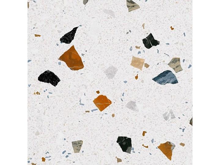 Stracciatella-R Nacar 80x80 płytki podłogowe Kwadrat 80x80 cm Kolor Biały Płytki tarasowe Gres Płytki ścienne Kolor Brązowy