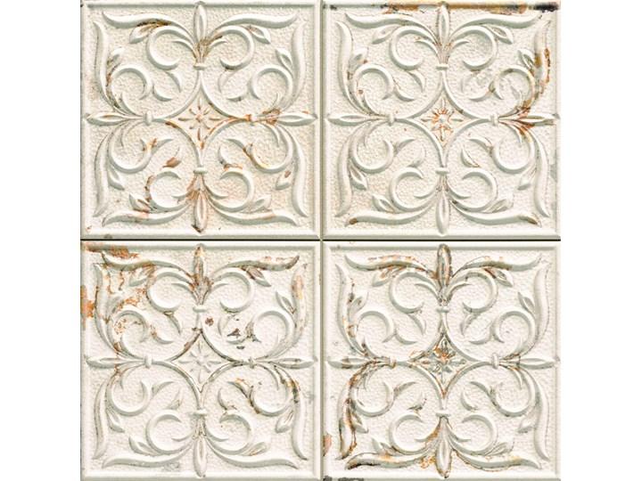 Antigua Lis White 33x33 płytka ścienna dekoracyjna Płytki ścienne Płytki podłogowe Płytki kuchenne Kwadrat Płytka dekoracyjna 33x33 cm Powierzchnia Matowa Kafle Kategoria Płytki