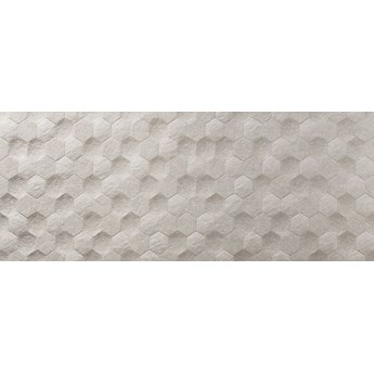 Basalt Hexagon Marfil Rect 29x89 płytka ścienna
