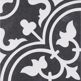 Arte Black 25x25 płytki patchwork gres