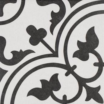 Arte White 25x25 płytki patchwork gresowe