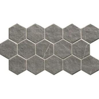 Muse Hex Grey 26,5x51cm płytka ścienna bazowa