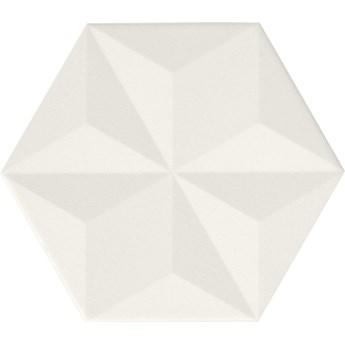 Chaplin White Vela Hexagon 25x29 płytki heksagonalne