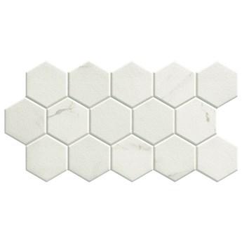 Hex Calacatta 26,5x51 heksagony imitujące marmur