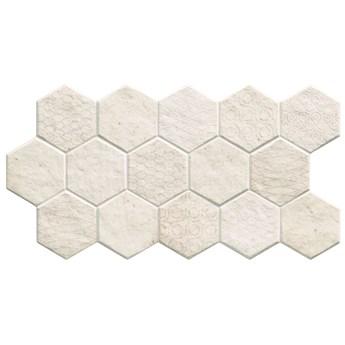 Malta Hex Sand 31x56 płytki heksagonalne na podłogę