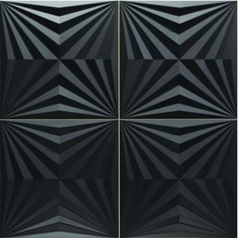 Optic Black 44x44 płytka ścienna dekoracyjna