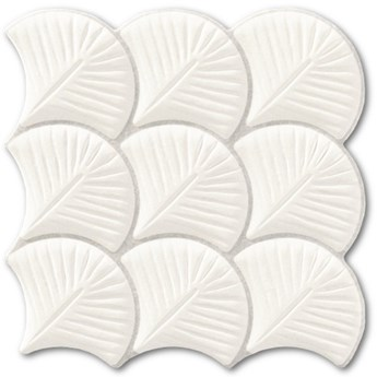 SCALE SHELL WHITE 30,7x30,7
