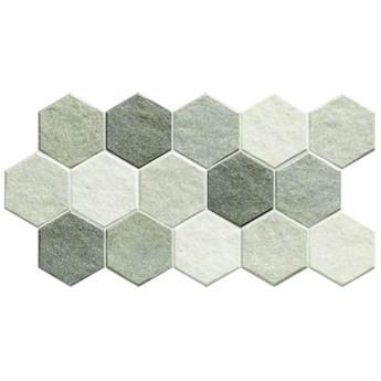 Stonehenge Hex Frost 26,5x51 płytka gresowa