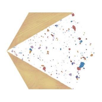 STRACCIATELLA HONEY NATURAL 25X29 hexagon lastriko