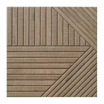 Tangram Wood Oak 44x44 płytki podłogowe gresowe