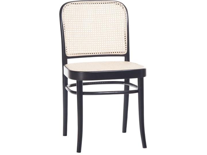Krzesło 811 Black Grain z ratanową plecionką Cane, TON Tkanina Wysokość 46 cm Głębokość 41 cm Płyta MDF Rattan Głębokość 53 cm Tradycyjne Szerokość 45 cm Wysokość 80 cm Drewno Styl Klasyczny