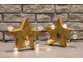Dębowa figurka dekoracyjna Gwiazda 20
