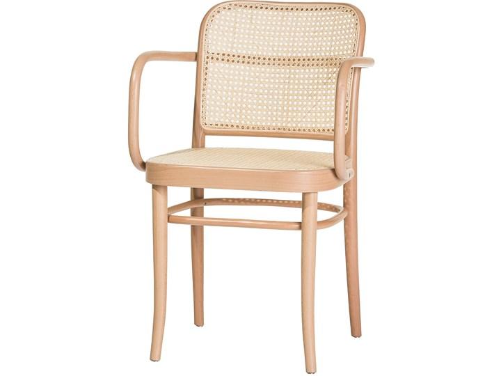 Fotel 811 Natural z ratanową plecionką Cane, TON