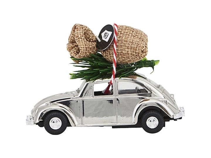 Dekoracja świąteczna samochodzik MINI Xmas srebrny
