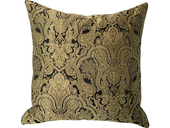Modna luksusowa aksamitna poduszka złoty kolor Mars More DCHKFBR