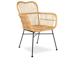 Krzesło rattanowe ALISON - naturalny rattan