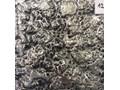 Lustro z ramą ze szkła artystycznego Volcano